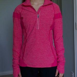 Lululemon Pink Half-zip Top